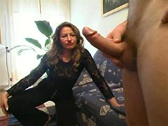 Milf is happy to ride meaty schlong