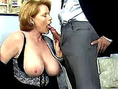 Mom has fun with young guys n girls