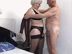 Granny has oral and fucks