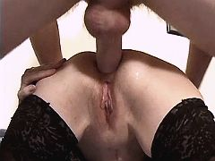Mom gets titsfuck n anal
